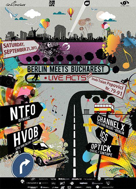 Berlin meets Bucharest Live Acts la Fusion Arena | ElectroMusic.ro