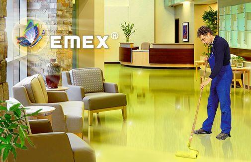 Decorative flooring application