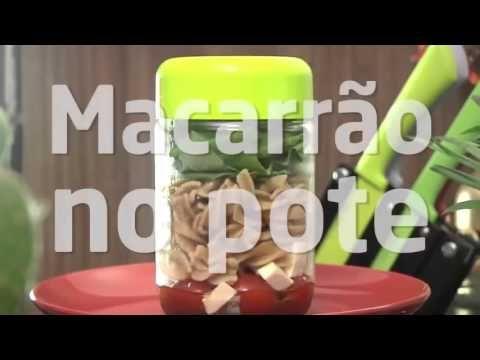Receita Fácil e saudável - Macarrão no Pote - COMO FAZER MACARRÃO NO POTE? - YouTube
