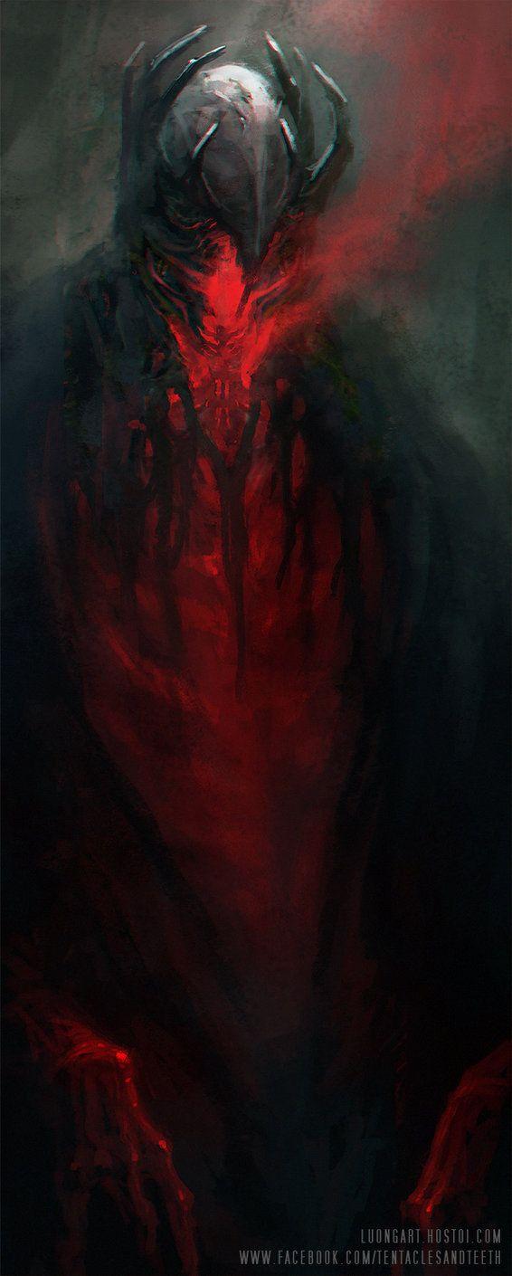 Blood Prince by TentaclesandTeeth | Digital Art / Drawings & Paintings / Fantasy | Character Concept Demon Void Knight
