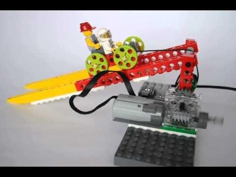 Kolejka linowa Lego WeDo