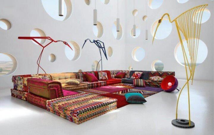 Roche Bobois Sofa Autumn/Winter 2012/2013 Collection, love it!