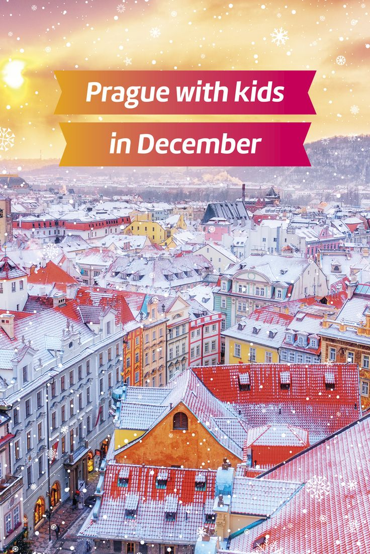 Christmas Prague I Prague in December I Winter Prague with Kids