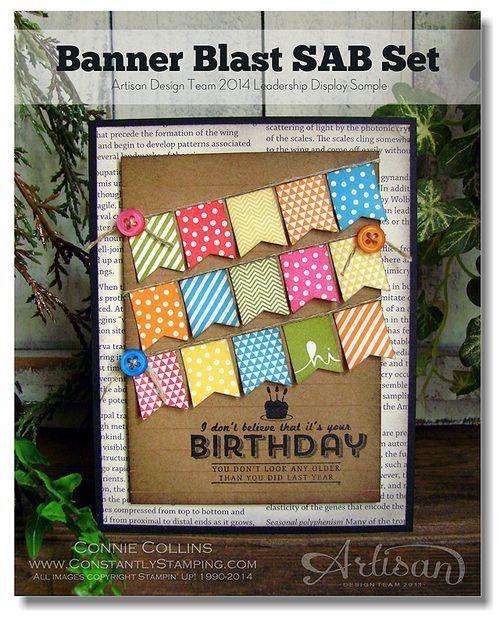 Banner Blast Birthday Card
