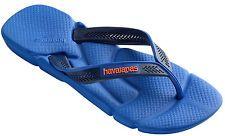 Havaianas Men`s Brazilian Flip Flops Power Sandals Blue Star Any Size NWT