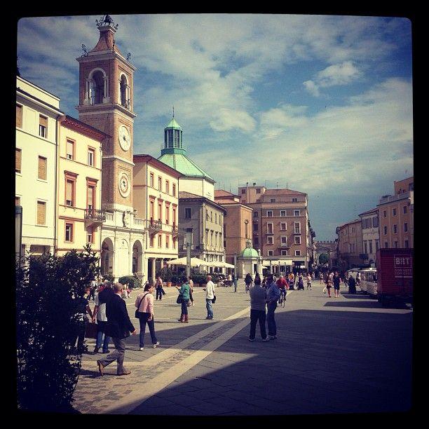 Piazza Tre Martiri, Rimini - Instagram by @comunerimini