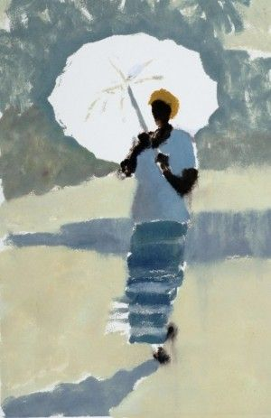 "Lucy Willis - ""The white umbrella"""