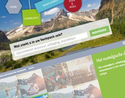 "TravelWebsite @Behance-project: ""Travellu website"" https://www.behance.net/gallery/16592769/Travellu-website"
