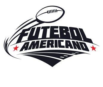 Logo Futebol Americano a Preto