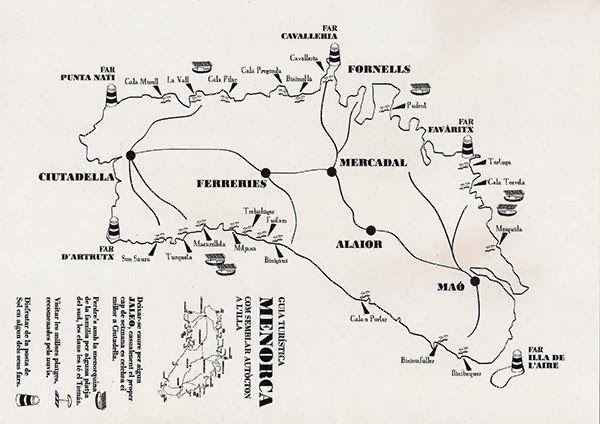 Mapa de Menorca #labodadeXD
