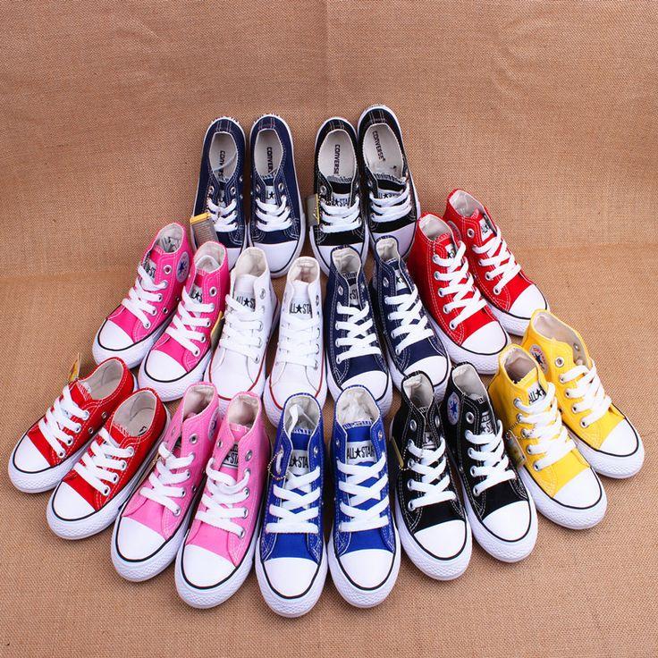 2016 новых детей холст обувь для мальчиков и девочек, чтобы помочь высокого и низкого обувь холст дышащий дикий классический ребенка малыша обувь