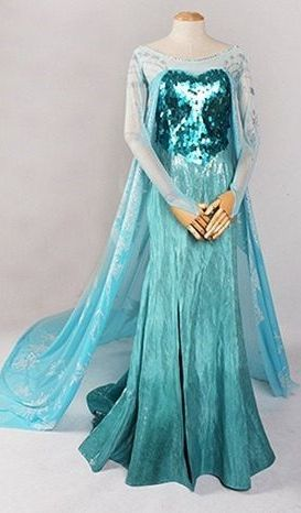 Elsa dress from FrozeN