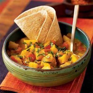 Potato Roti Curry | MyRecipes.com