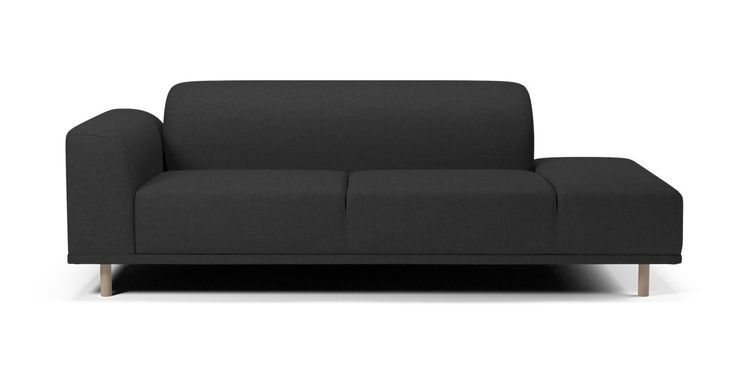 Allow us to introduce you to Hannah. She's a flexible, contemporary, comfortable sofa with soft lines and curves, and she comes in different models depending on your mood and need. Change her legs and she'll get another look - almost like a chameleon. So say hello to ...Hannah.