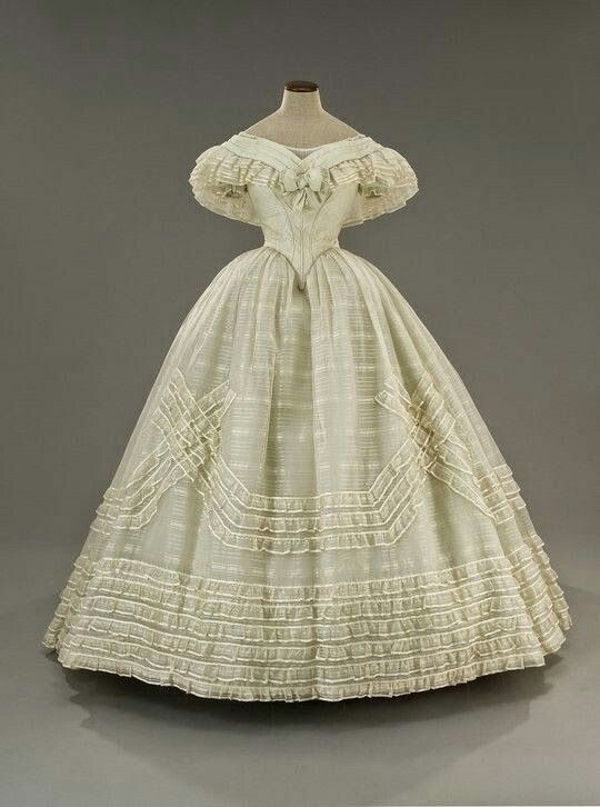 Anatomy Of A Civil War Ball Gown 1900s