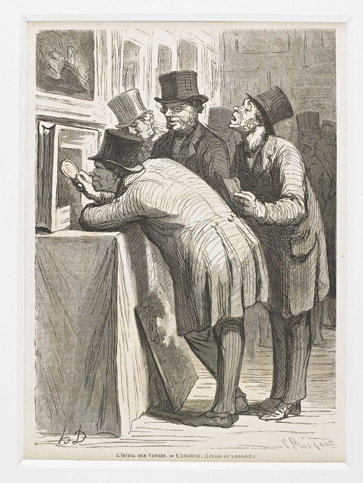 45 best daumier honore images on pinterest caricatures for Devant le miroir manet