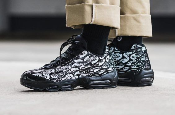 6568b3626c26 Look For The Nike Air Max 95 Premium Air Max Black Now Just like the  previous