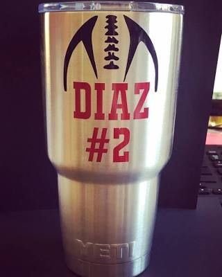 Football Decal, yeti decal ...                                                                                                                                                                                 More