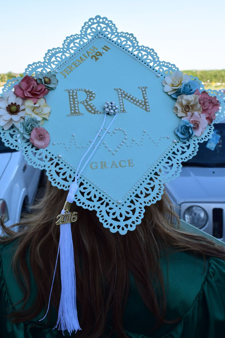RN Graduation Cap/Nursing Graduation Cap