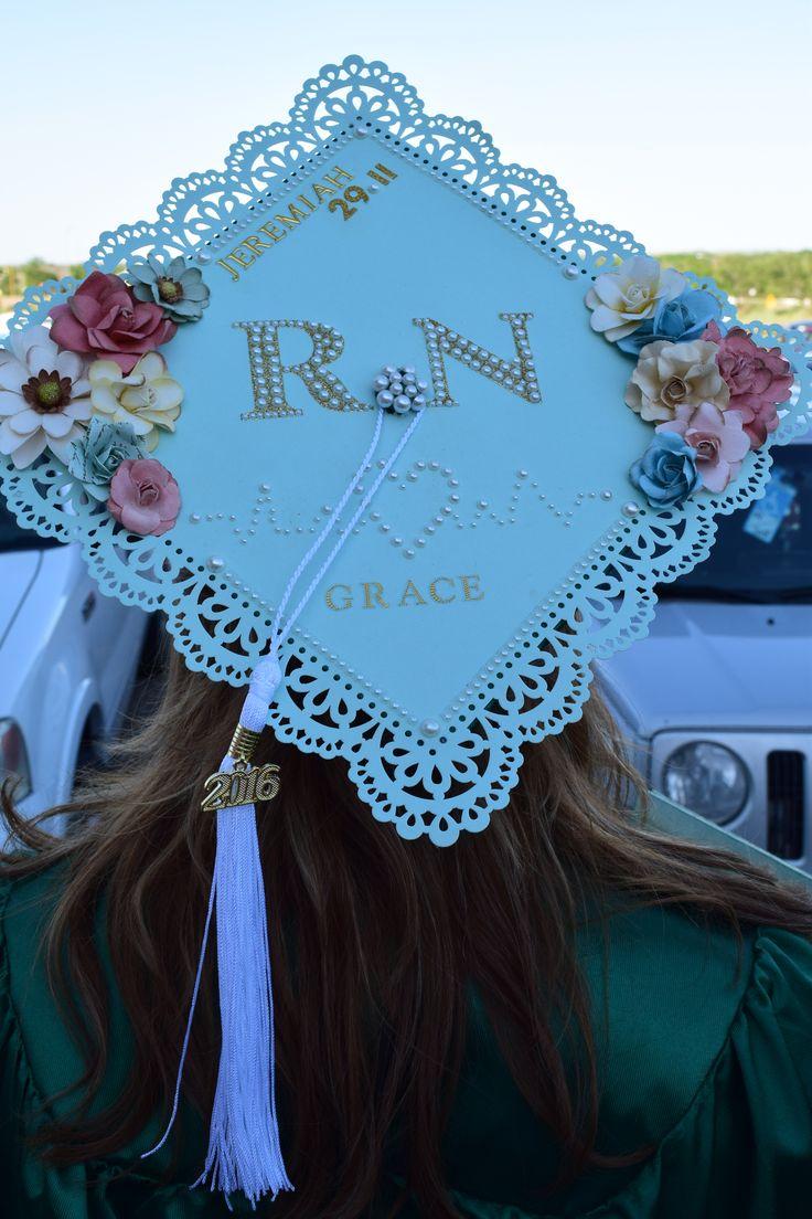 RN Graduation Cap/Nursing Graduation Cap