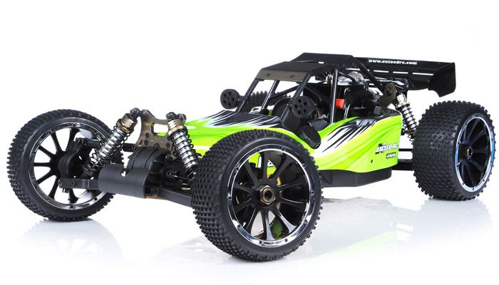 Buggy Radio Car 1/5th Giant Scale Exceed RC Barca 30cc Gas-Powered ...
