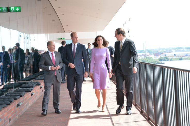 Les adieux à l'Allemagne   Dans le boudoir de Kate Middleton