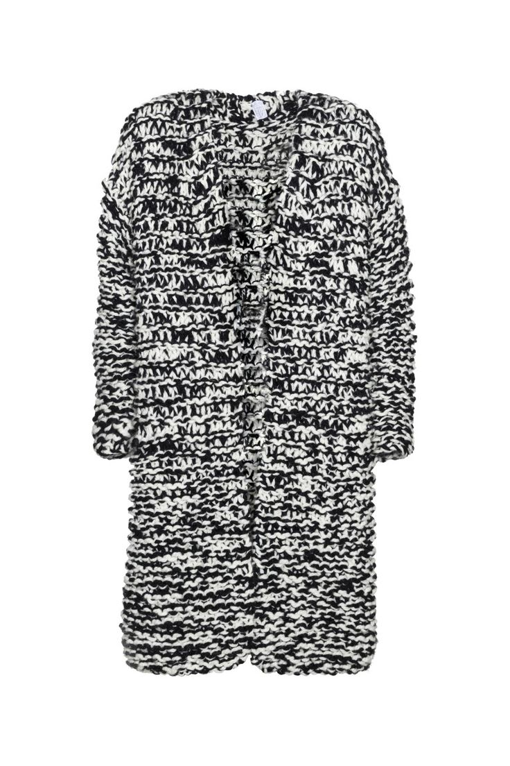 Anna Dudzińska, ASSOCIATION, aw, sweater coat BRONTO. To download high or low resolution photos view Mondrianista.com (editorial use only).