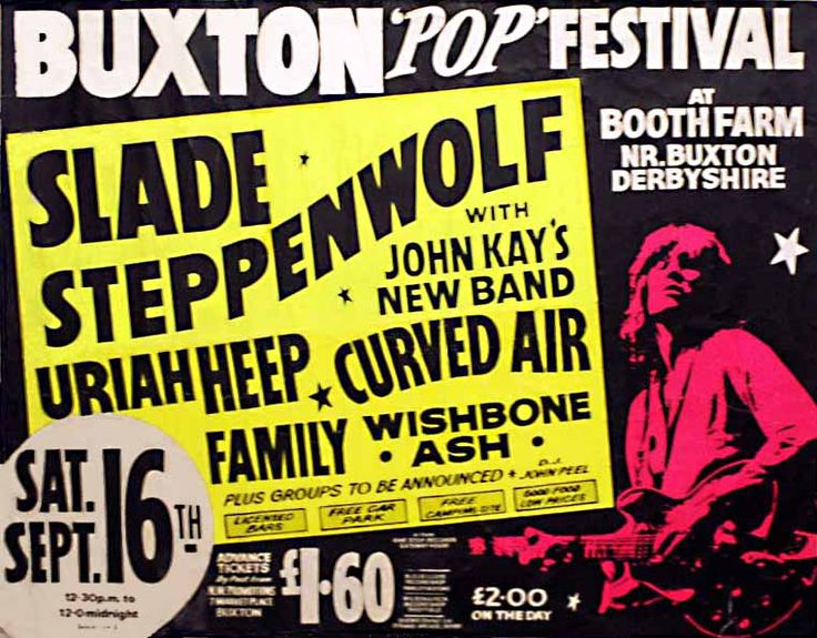 The Buxton Rock festivals 1972