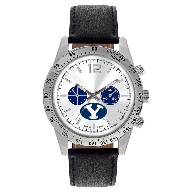 Men's Game Time NCAA Letterman Sports Watch - Black -