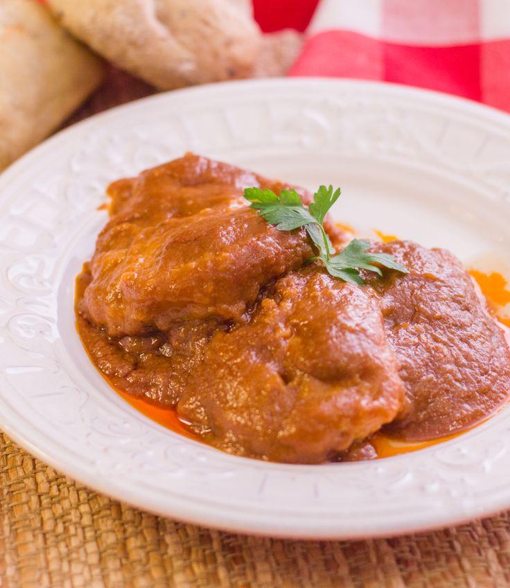 #receta #tradicional BACALAO A LA VÍZCAINA #semanasanta #vigilia #guiso
