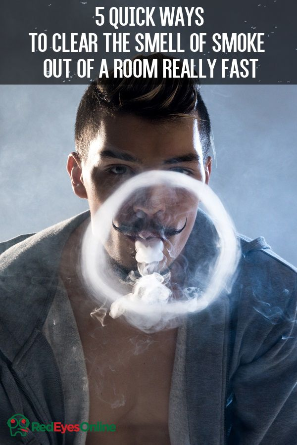 5 Quick Ways To Clear The Smell Of Smoke Out Of A Room Really Fast From RedEyesOnline.net