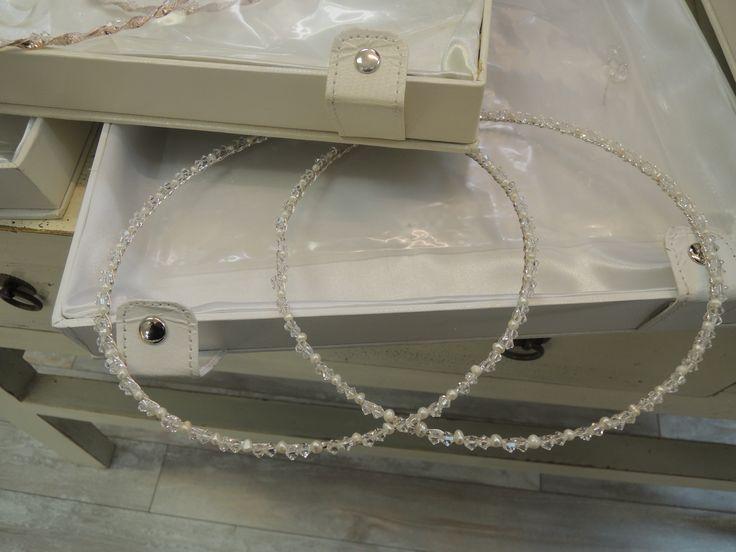 Kentrikon & Noufaro Astoria, NY http://kentrikon-noufaro.com #701 Swarovski Crystal + Pearl