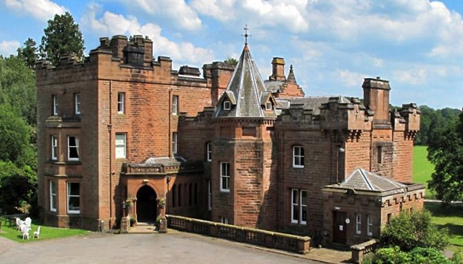 Dumfries, Scotland: 1-2 Night Stay For Two With Breakfast Plus Optional Dinner and Prosecco Find your countryside escape in the 45-acre Friars Carse Hotel Estate      Built as a 13th Century friars and later home to celebrated Scottish poet Robert Burns      All rooms offer complimentary Wi-Fi access and en suite facilities      Includes breakfast at the in-house restaurant      Upgrade and...