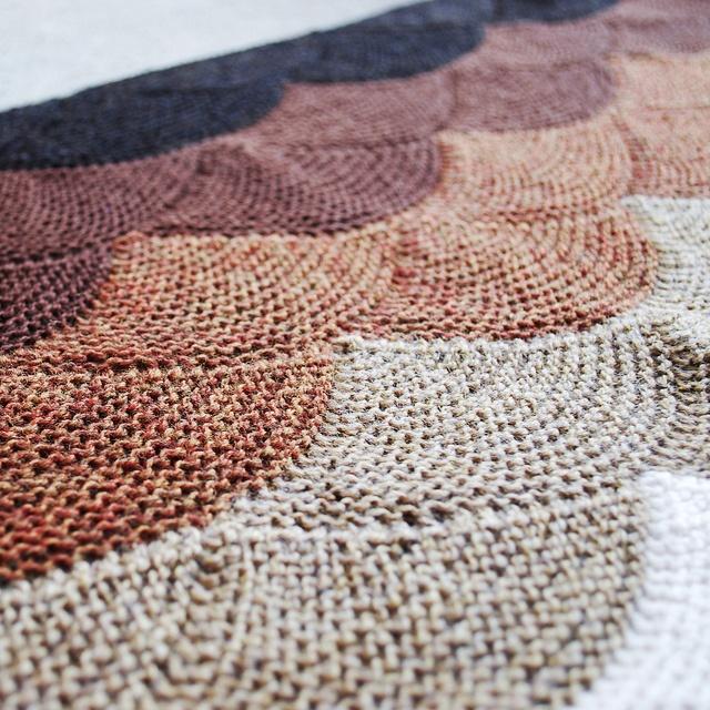 Perfect anami shawl