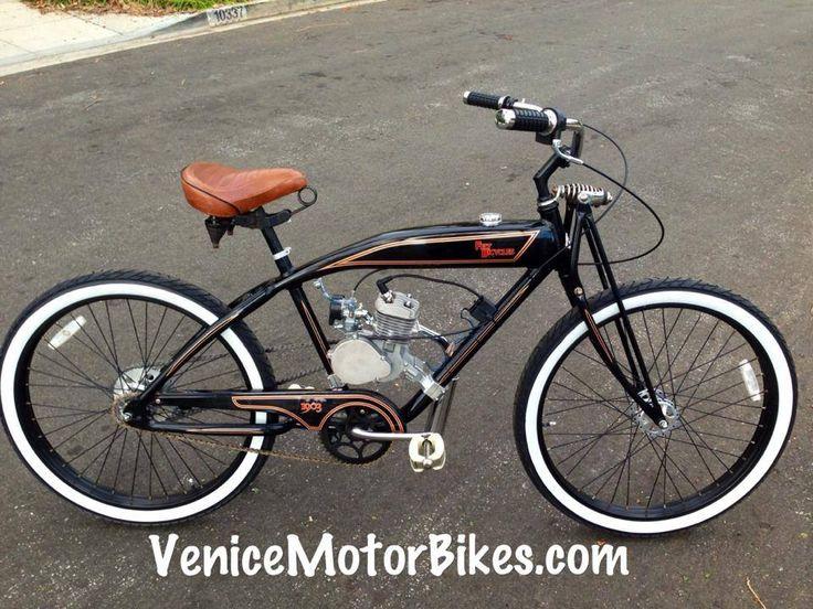 Felt 1903 motorized bicycle, vintage replica motorcycle