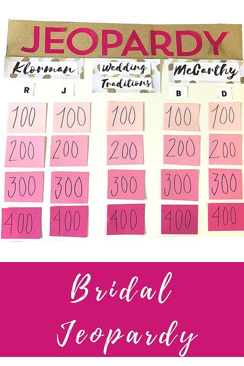 The 25+ best Bachelorette jeopardy ideas on Pinterest Bridal - jeopardy template