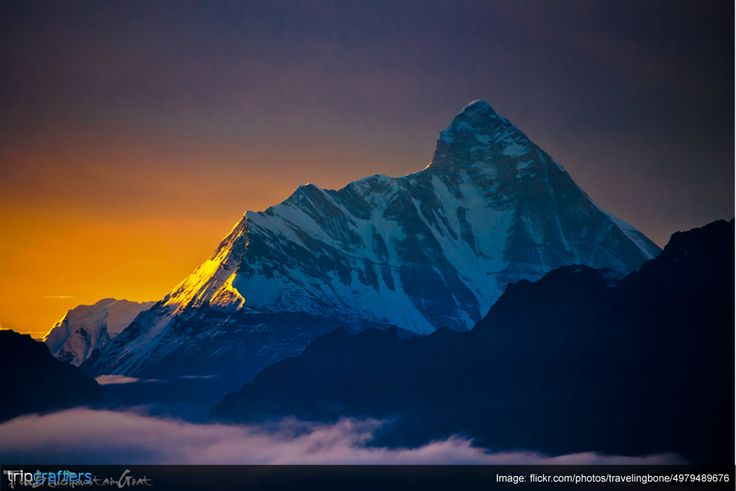 Answer this: Kangchenjunga in #Sikkim, India lies on the border with #India and which other country? 1)Bangladesh  2) Nepal  3) Bhutan  4) Myanmar #Travel | #Trivia