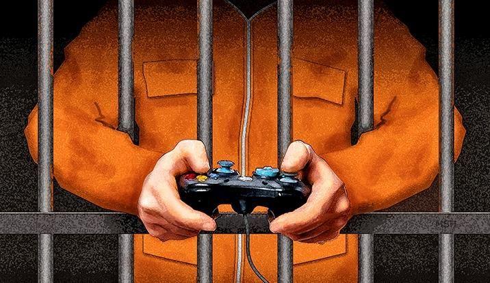 Videohry mohou léčit psychopaty