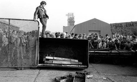 Industrial frontline … Easington Colliery, County Durham.