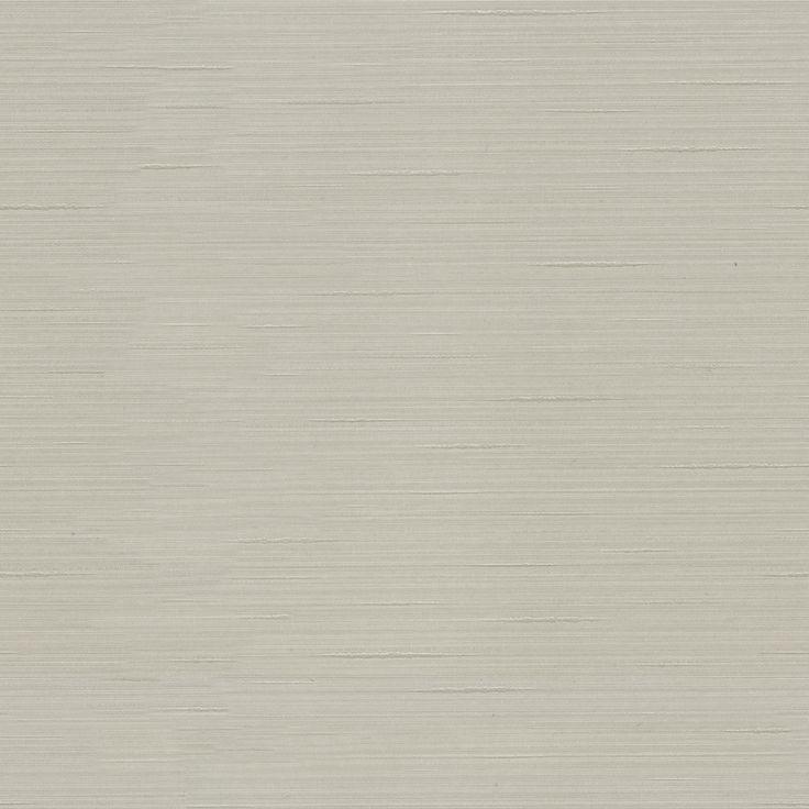 Allen roth grey fabric backed vinyl unpasted wallpaper for Textured vinyl wallpaper bathroom