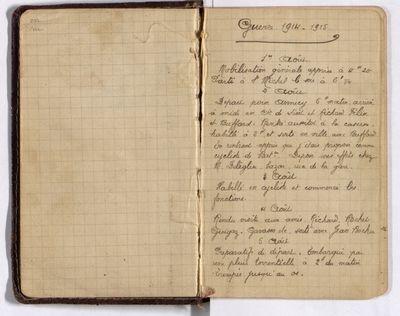 Grande collecte Européana 1914-18 en Savoie FRAD73-022-Histoire de Vincent Ferrier : le témoignage et les photos http://www.europeana1914-1918.eu/fr/contributions/7937