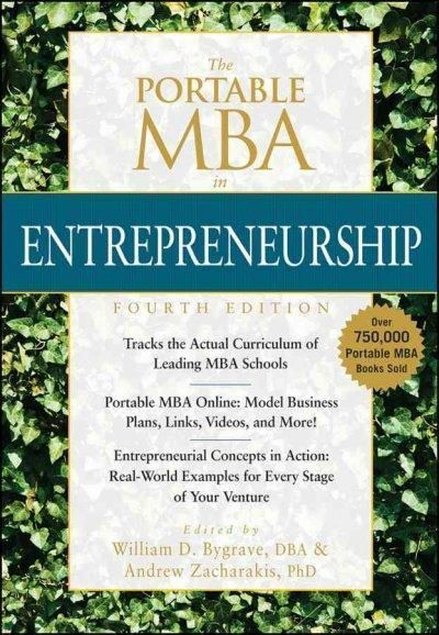 The Portable MBA in Entrepreneurship (Hardcover)