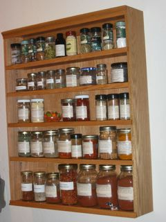 Kitchen Spice Storage Racks And Cabinets   Assembled To Your .