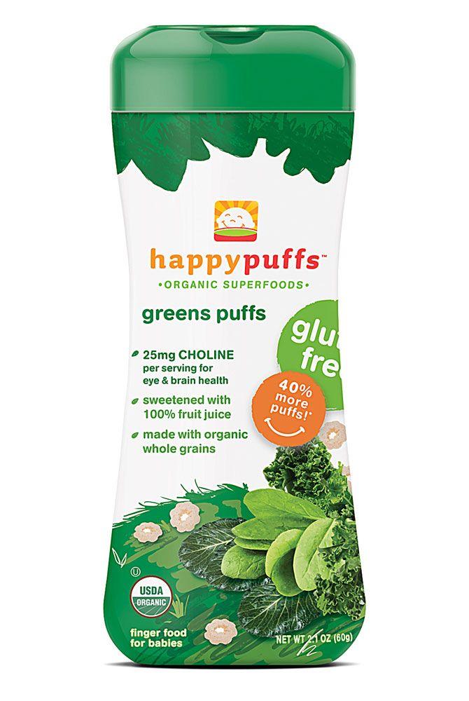 Happy Baby Organic Puffs Greens