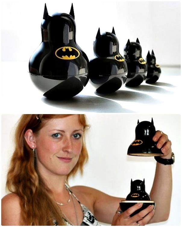 """Batman"" Matryoshka Doll"