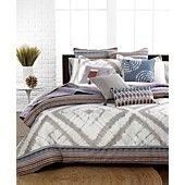 My next bedding set!!! Echo Bedding, Tribal Blocks Comforter and Duvet Cover Sets