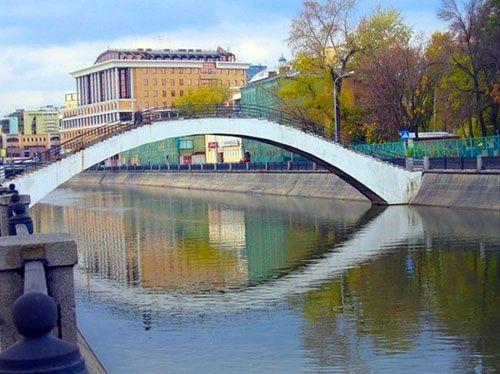 Садовнический мост в Москве | Достопримечательности Москвы