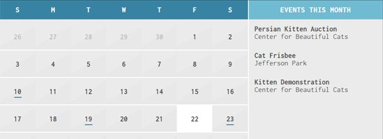 18 Best Free Calendar and Datepicker jQuery Plugins for Developers