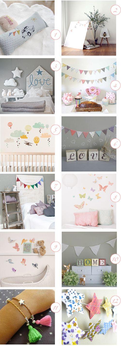 ChicDecó: Complementos monísimos para niñosSuper cute accessories for kids bedrooms