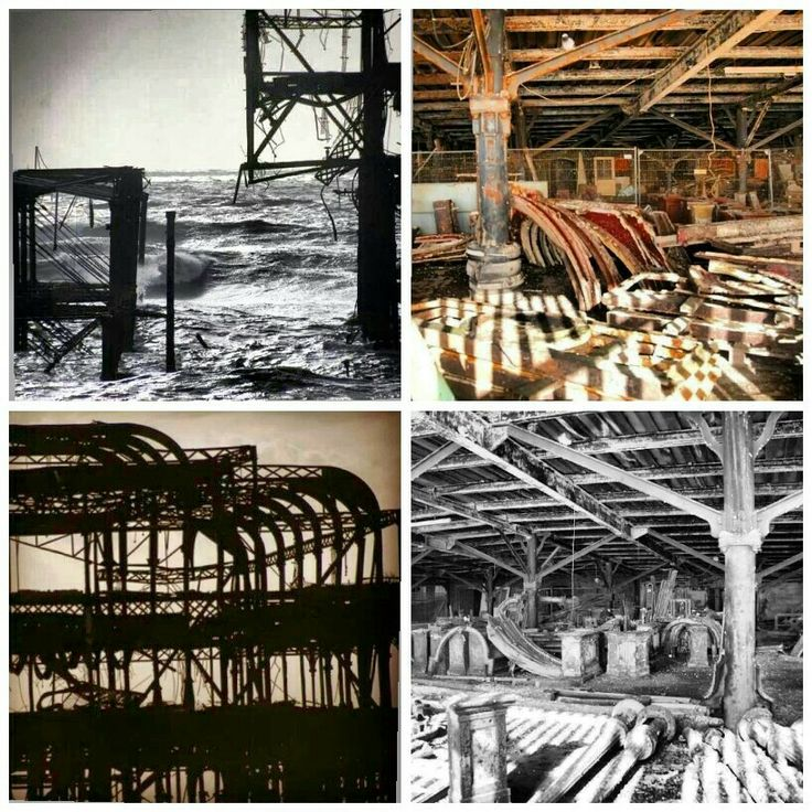 A selection of my photographs of the west pier